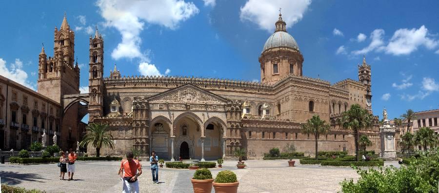 Taormina-Piazza Armerina-Agrigento-Palermo