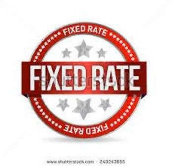 Fixed rates
