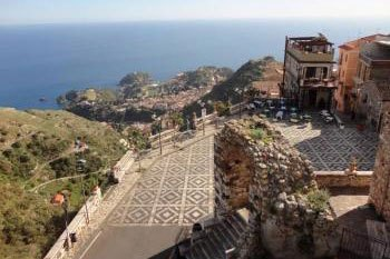 SHORE EXCURSIONS FROM TAORMINA TO TAORMINA AND CASTELMOLA